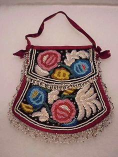 iriquios beadwork  | iroquois indian bead art