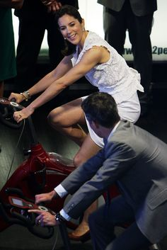 Crown Princess Mary and Crown Prince Frederik of Denmark in Australia During the Danish Royal Tour 2011