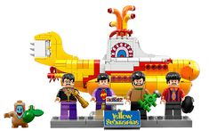 The Beatles' new Lego set of their iconic Yellow Submarine has released to buy today - the perfect Christmas present
