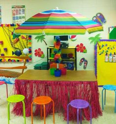 6 Secrets of Active Learning Classroom Design -- Campus Technology Classroom Design, Classroom Setting, Classroom Themes, Ocean Themed Classroom, Future Classroom, Beach Theme Preschool, Preschool Classroom, Kindergarten Class, Ocean Themes