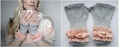 DIY Gloves : DIY fingerless gloves