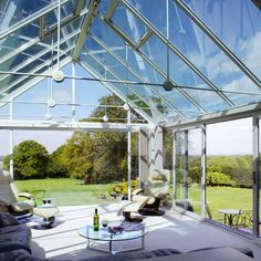 Inspiration for your Garden Room | Crystal Living Conservatory Design Roof Ideas Glass Roof & The 22 best Glass Roof Ideas images on Pinterest | Glass ceiling ...