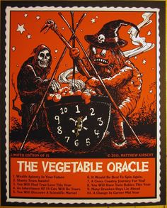 Image of Halloween Vegetable Oracle Fortune Telling Game