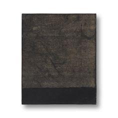 YAMANOBE, Hideaki Klangassoziationen Szene H 2/16 Acryl und Japanpapier auf Nessel Signiert H. Yamanobe 1999 28,5 x 23,5 x 4,5 cm