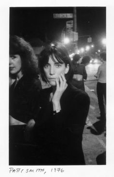 Patti Smith, the poet, great piece on CBS Sunday Morning about her