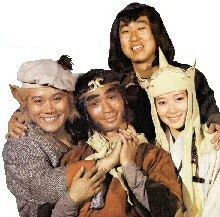Monkey Magic - a brilliant TV Show from the early 1980s about the ravels of a monk and his followers to find the Holy Scriptures