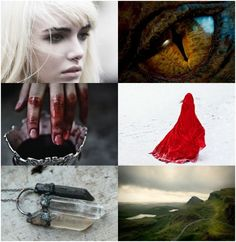 """Manon Blackbeak - Heir of Fire by Sarah J. Maas (Throne of Glass series)  """"Soulless and heartless, as a Blackbeak ought to be. She was wicked right down to the marrow of her bones."""""""