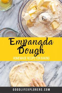 Empanadas Recipe Dough, Sweet Empanadas Recipe, Baked Empanadas, Ground Pork Empanadas Recipe, Empenada Recipe, Chilean Recipes, Sauces, Baking Recipes, Recipes