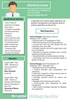 Graphic Resume Value Profile Example   Resume Examples