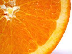 orange. Appelsin skive
