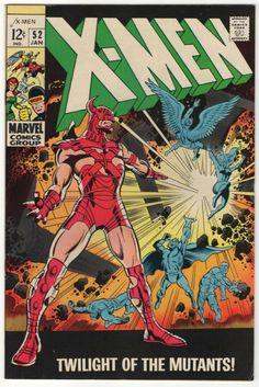 Uncanny X-Men 52 January 1969 Issue Marvel Comics Grade Marvel Comics, Hq Marvel, Marvel Girls, Marvel Comic Books, Comic Books Art, Book Art, Marvel Cyclops, Marvel Villains, Marvel Characters
