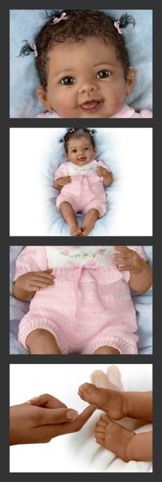 So Truly Real Interactive Baby Doll Taylors Ticklish Tootsies by Ashton Drake…