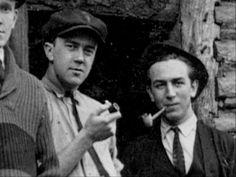 Walt Disney with Ub Iwerks - 1923