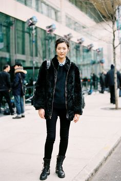 liu wen I LOVE SO MUCH THIS OUTFIT