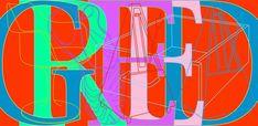 'Seven Deadly Sins', Michael Craig-Martin, 2008 Nancy Spero, James Rosenquist, Michael Craig, Claes Oldenburg, Jasper Johns, Roy Lichtenstein, New Thought, Seven Deadly Sins, Typography Letters