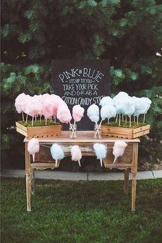 Endulza tu boda con algodón de azúcar! www.unabodaorigin...