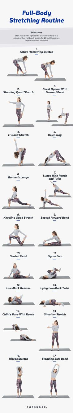 Stretch, Recover, Re