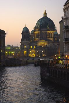 Berliner Dom on The River Spree ~ Berlin, Germany