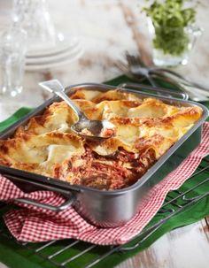 Helppo tonnikalalasagne. Easy Cooking, Pasta Dishes, Deli, Tuna, Cauliflower, Macaroni And Cheese, Vegetables, Ethnic Recipes, Food