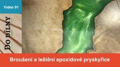 Wood Design, Design Art, Epoxy, Wood Art, Resin, Workshop, Woodworking, Youtube, Grinding