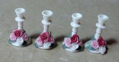 Making Capodimonte here is a little video showing how I make these candlesticks.