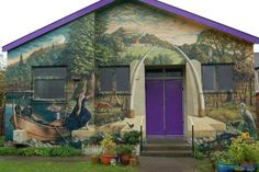 New Mural on the Goddess Hall - Glastonbury Goddess Temple Warrior Goddess Training, Building Art, Building Architecture, Mists Of Avalon, Gypsy Home, Season Of The Witch, Stonehenge, Street Art Graffiti, Urban Art