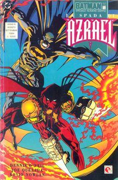 Batman: La spada di Azrael - Dennis O'Neil (story) Joe Quesada (pencils), Kevin Nowlan (inks) - Glenat Italia, agosto/settembre 1994