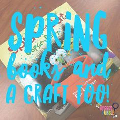 Spring is settling in, and that means one thing for my class: time to bust out all my favorite spring crafts and books for speech!