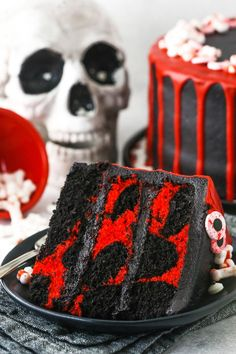 Spooky Halloween Cakes, Wilton Candy Melts, Marble Cake, No Sugar Foods, Piece Of Cakes, Cupcake Cakes, Cupcakes, Holiday Recipes, Cake Recipes