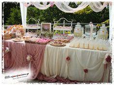ΣΤΟΛΙΣΜΟΣ ΓΑΜΟΥ - ΒΑΠΤΙΣΗΣ :: Στολισμός Βάπτισης Θεσσαλονίκη και γύρω Νομούς :: ΣΤΟΛΙΣΜΟΣ ΒΑΠΤΙΣΗΣ ΚΟΥΚΟΥΒΑΓΙΑ VINTAGE ΣΤΟΝ ΧΟΡΤΙΑΤΗ ΚΩΔ.:KOU-1121 Sarah Kay, Wedding Decorations, Table Decorations, Event Decor, Christening, Buffet, Celebs, Party, Flowers