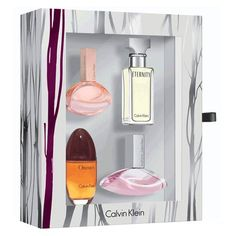 Calvin Klein Women Mini Gift Set (Euphoria + Endless Euphoria + Obsession + Eternity)