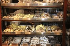 Great pic of Ferrara's by Inside Journeys. Cannolis, pizza, dumplings & more! Join Ahoy New York on a fun, foodie adventure of two historic neighborhoods, Little Italy & Chinatown! http://www.ahoynewyorkfoodtours.com/