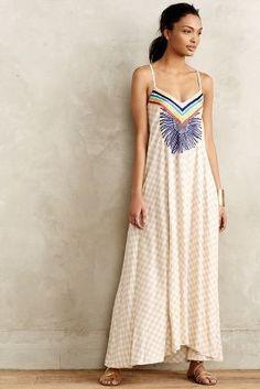 Mara Hoffman Setting Sun Maxi Dress