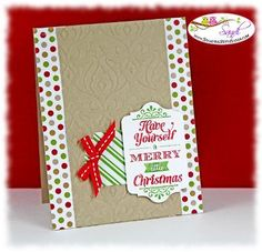 Merry Little Christmas Stampin Up