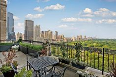 View from The Essex House - Luxury Rentals - 160 Central Park South