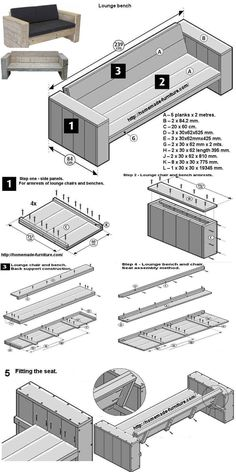 Scaffolding furniture, homemade tables and chairs construction drawings. Scaffolding furniture, homemade tables and chairs construction drawings. Outdoor Furniture Plans, Diy Garden Furniture, Furniture Projects, Furniture Decor, Diy Projects, Barbie Furniture, Furniture Design, Rustic Furniture, Furniture Stores