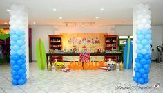 Luau Surf Party via Karas Party Ideas | KarasPartyIdeas.com #luau #surf #hawaiian #birthday #party #ideas (10)