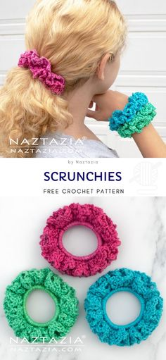 Colorful Crochet Scrunchies Colorful Crochet Scrunchies,Mütze stricken Scrunchies Free Crochet Pattern Related posts:Free Amigurumi Dolls Crochet Patterns - Amigurumi - Amigurumi Amigurumi Snow White F - AmigurumiCrochet free amigurumi. Crochet Bows, Crochet Motifs, Crochet Gifts, Easy Crochet Headbands, Crochet Hair Clips, Owl Crochet Pattern Free, Free Crochet, Crochet Patterns, Kids Crochet