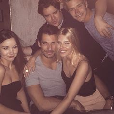 David Gandy, Mollie and friends || London 11/04/15