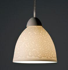Ceramics by Sasha Wardell at Studiopottery.co.uk - 2011. Sand Coral Pendant.