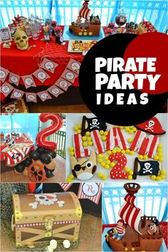 Sweet Pirate Owl Birthday Party - Spaceships and Laser Beams
