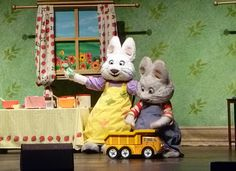 Max and Ruby at the Hanover Theatre