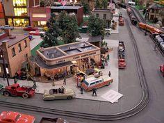 """""""Roadside America"""", January 2012, Indoor Miniature Village"""