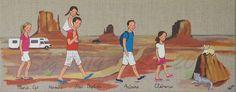 American dream team, 20x50 cm