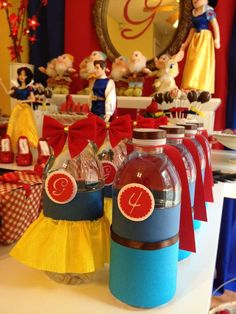 Snow White Birthday Party Ideas | Photo 5 of 16 | Catch My Party