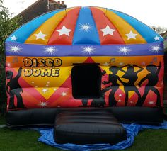 https://flic.kr/s/aHskqd85bT | All Bounce Surrey - Disco Dome Bouncy Castle for Hire | All Bounce Surrey - Disco Dome Bouncy Castle for Hire  The ultimate party Dome for Surrey. This Disco Dome Bouncy Castle is complete with roof, spinning disco LED lights and a Bluetooth speaker system. Simply Bluetooth music from any device to the dome and join the party. If you have a DJ at your party you can even ask him to synchronise his system with the Dome!  please visit - www.allbouncesurrey.co.uk…