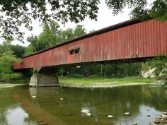 Deer's Mill Covered Bridge, Montgomery County, IN
