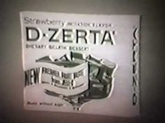 1965 D-Zerta TV commercial
