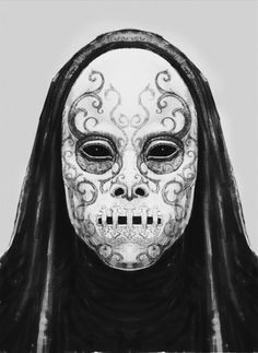 """knockturnallley: """"Death Eaters concept art by Rob Bliss """""""
