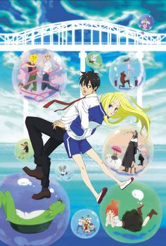 Hanabee are releasing the cool looking Arakawa Under The Bridge this year on the 5th of December. There will be a second season to follow later on in early 2013.
